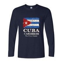 VENDITA CALDA 2018 di Nuovo Modo di Bandiera Cuba T Camicia Degli Uomini di  Marca Degli eaf44a55a2fe