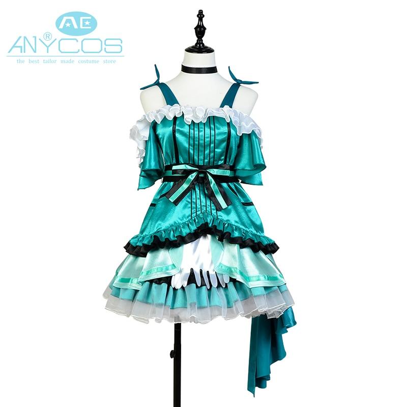 Love Live Cosplay Costume Kira Kira Sensation Kotori Minami Dress Gloves Full Set Cosplay Costume For Women Girls New Arrival