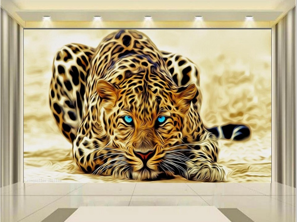 3d wallpaper photo wallpaper custom kids mural living room tiger hunting golden background painting wall wallpaper for walls 3d custom 3d mural wallpaper european style painting stereoscopic relief jade living room tv backdrop bedroom photo wall paper 3d