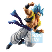 FIGURA Gogeta Banpresto Dragon Ball Super Z-BATTLE Tronzo Original Azul PVC Action Figure Modelo Brinquedos Limitada Gogeta Figurinhas(China)