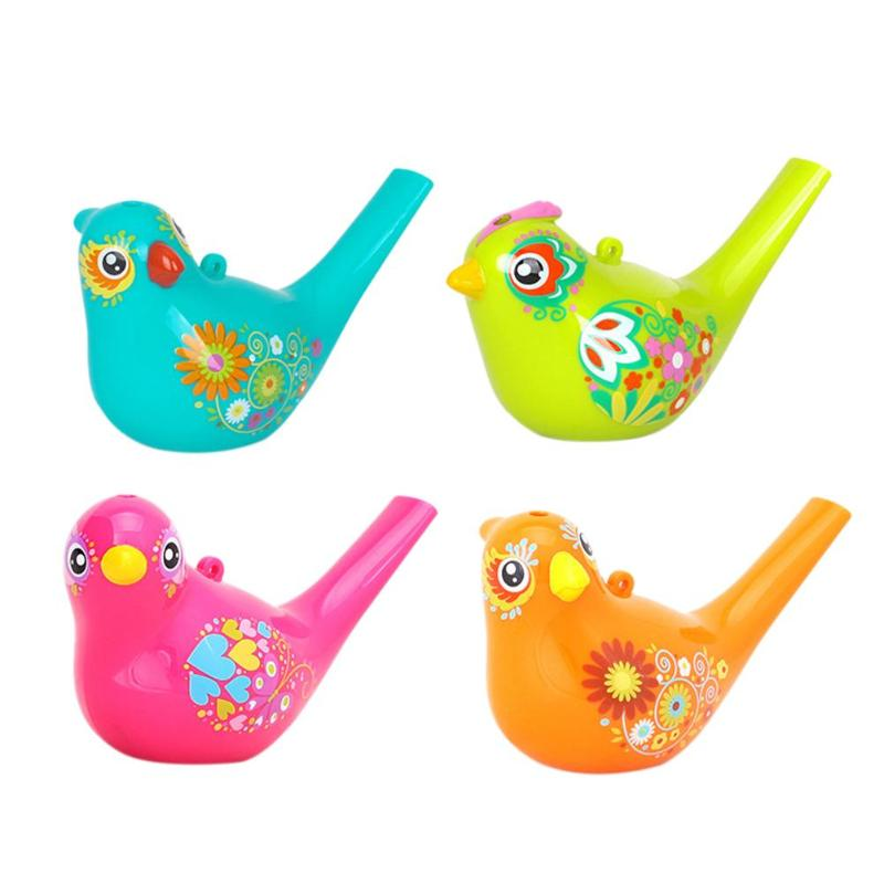 Charitable 2pcs/lot Coloured Water Bird Whistle Bathtime Musical Toy For Kid Early Learning Educational Children Gift Musical Instrument Toys & Hobbies