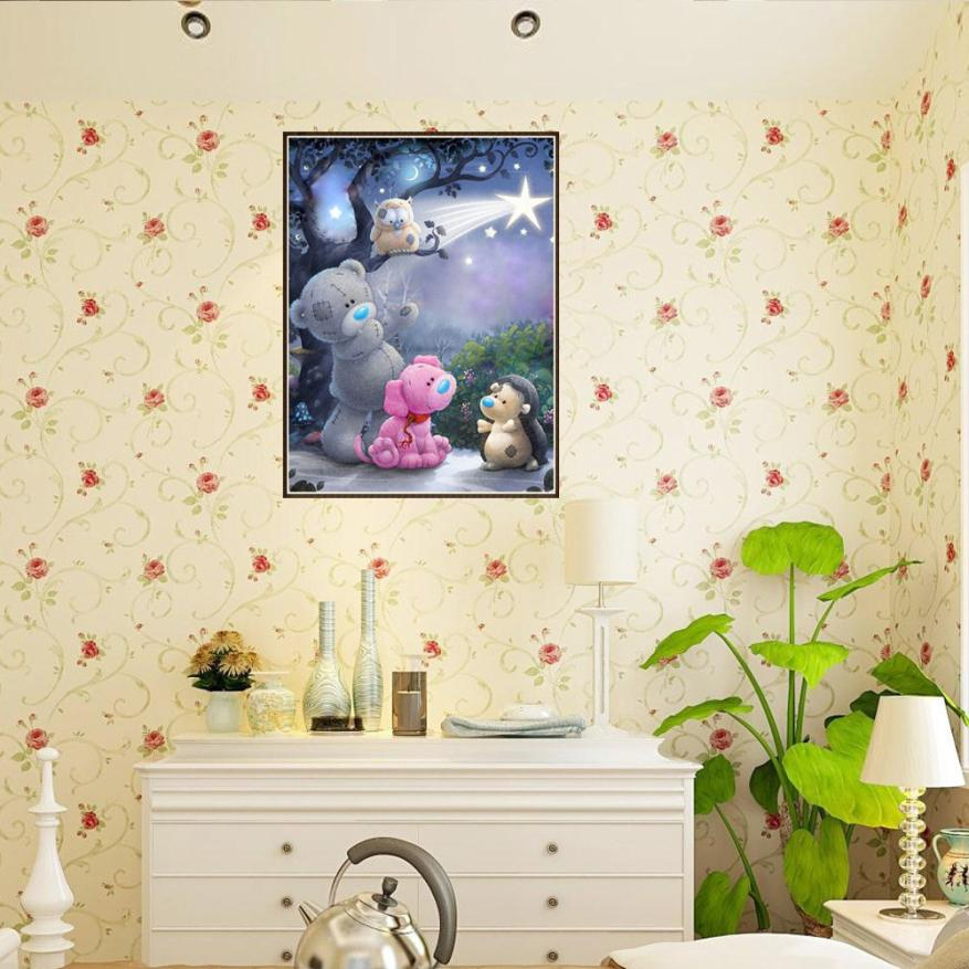 5D Embroidery Paintings Rhinestone Pasted DIY Diamond Painting Cross Stitch B bts poster wall sticker kids wandaufkleber
