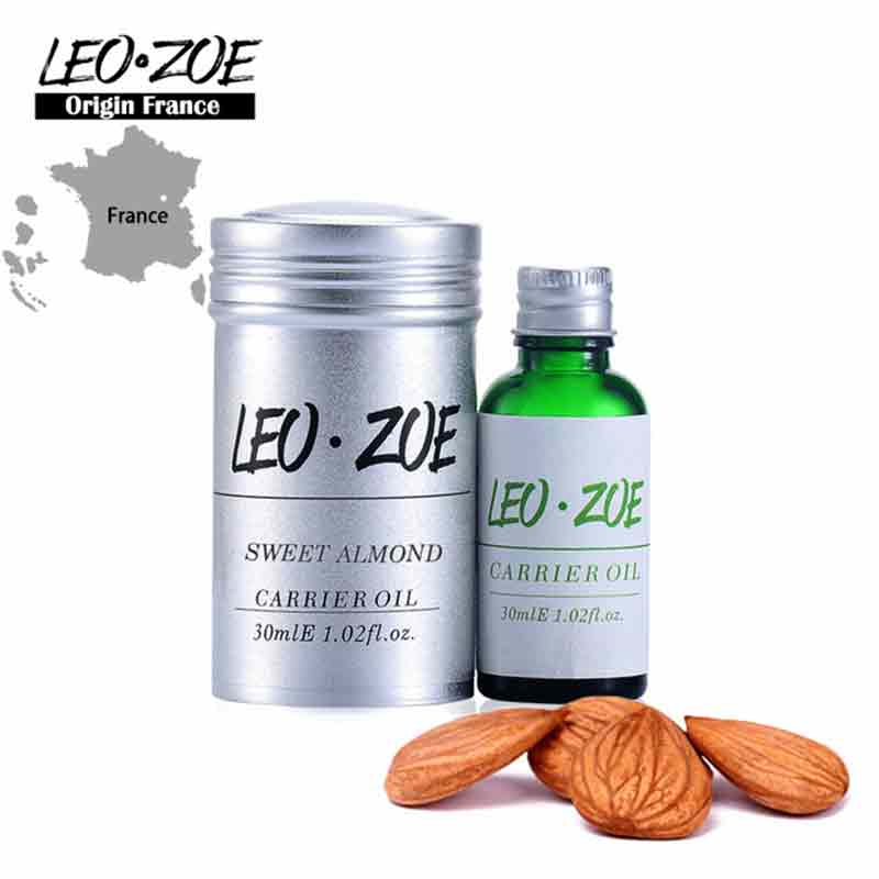 цена Well-Known Brand LEOZOE Sweet Almond Oil Certificate Of Origin France High Quality Aromatherapy Sweet Almond Oil 30ML онлайн в 2017 году