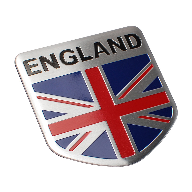 Car Styling Russia England France Italy Germany Flag Car Sticker