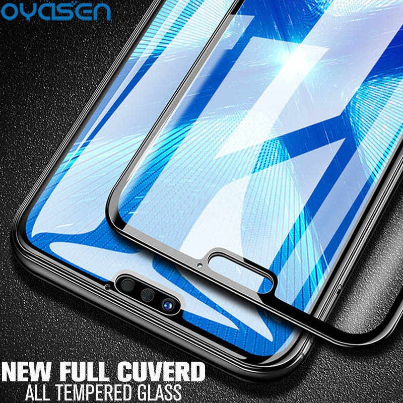 Full Cover Tempered Glass For Huawei Y9 Y7 Y6 Y5 Lite Prime Pro 2018 2019 3D Curved Screen Protector For Huawei Y9 2018 2019