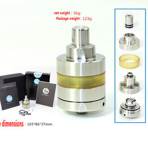 Nite Kayfun-Lite-316 SXK RTA 2ml-Intake 22MM Bottom Ss Prime 2pcs KF DLC Vs V6 NEWEST