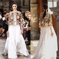 Роскошный халат Femme ETE 2017 плюс размер XS 5XL 6XL, удивительные свадебное белое платье и вышивкой ЭЛЕГАНТ куртка партии Длинные платья