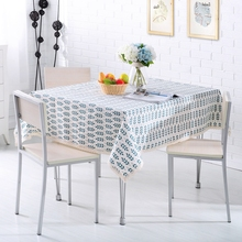 1 Piece American Pastoral Style Floral Leaf Blending Tablecloth Dinner Table  Cloth Dining End Table Cover