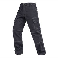 Men Working Pants Multi Functional Pockets Work Tool Trousers High Quality Wear Resistant Worker Mechanic Cargo