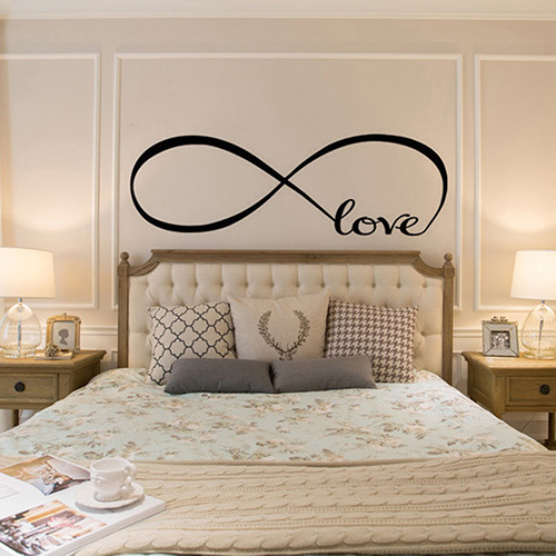 New Removable Wallpaper Love Loop Home Bedroom Decorations For Home Decor Wall Sticker Poster Home Decoration Accessories Decor