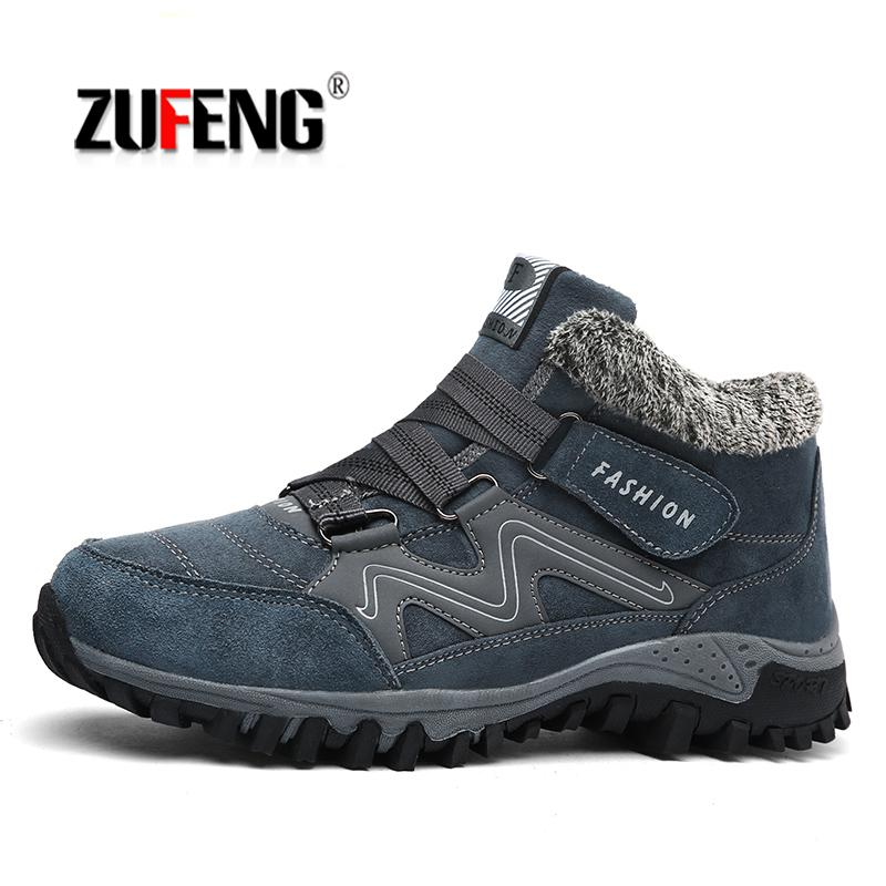 Size 35-46 Winter Men Running Shoes Women Fur Warm Outdoor Running Sneakers Wedges Snow Boots Healthy Running Plush Sneakers кардиометр running