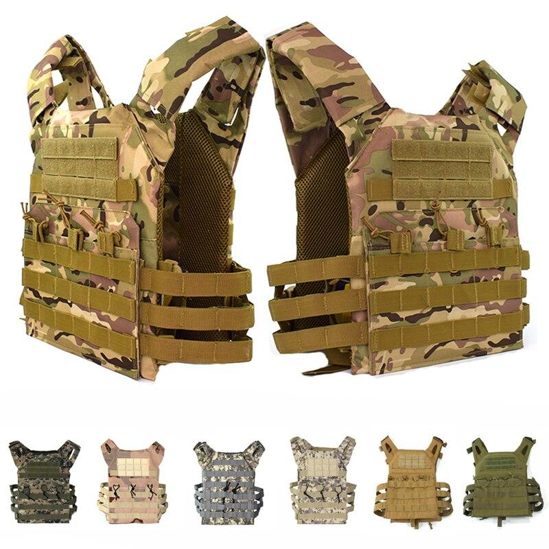 Jagd Tactical Zubehör Körper Rüstung Weste GPA Einfache Version Platte Träger Weste Multicam Munition Magazin Airsoft Weste