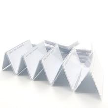 بطاقات ذكية 100 قطعة مزودة بتقنية تحديد الهوية بموجات الراديو 125 كيلو هرتز EM4100 TK4100