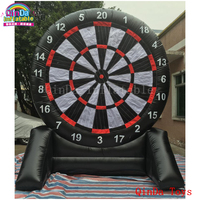 Best price of football dart game inflatable dart game/inflatable soccer darts