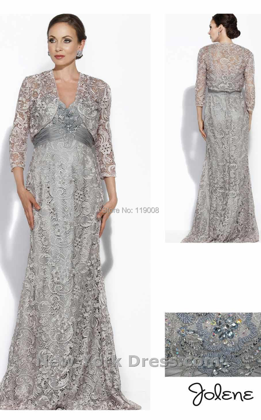 New Arrical Mermaid Silver Gray Mother Dress For Wedding