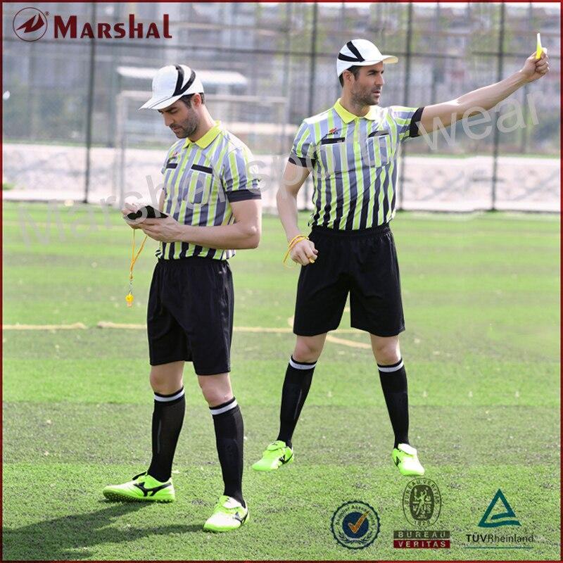 Uniforme d'arbitre d'impression par sublimation complète, personnalisation uniforme d'arbitre de poche, maillot d'arbitre en gros personnalisé professionnel