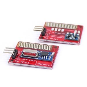 Image 2 - Açık akıllı uzun menzilli 315 MHz RF kablosuz alıcı kiti Arduino için LORA kurulu Mini RF verici alıcı modülü 315 MHz kiti