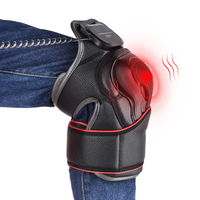 Knee Joint Physiotherapy Massage Arthritis Pain Therapy Device Electric Knee Magnetic Vibration Heat Massager Health Care