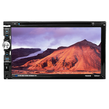 "6063B Universal 2 Din Car DVD player 6.95"" Car Autoradio Video/Multimedia MP5 Player mp4 Car Stereo audio player car DVD"