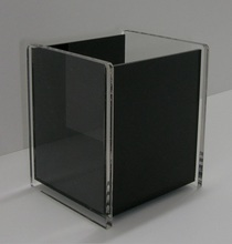 Jewelry Accessories Display Box 5 Sided Premium Clear Acrylic Box Storage Display