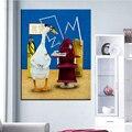 Большой размер Печати Масляной Живописи стоматолог Настенная живопись Искусство Стены Украшения Картины Для Гостиной картина Без Рамки