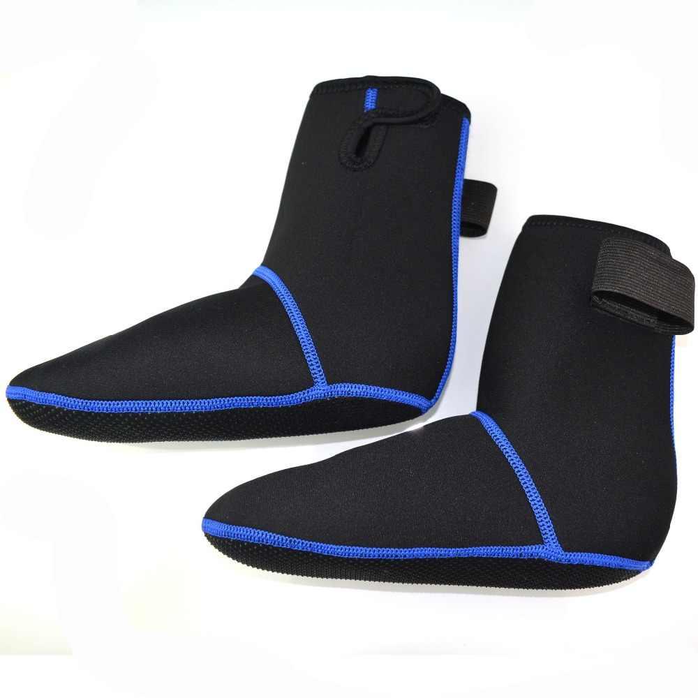 3mm Neopreen Snorkelen Schoenen Duiken Sokken Strand Laarzen Wetsuit Voorkomen Krassen Opwarming antislip Winter Zwemmen Shose