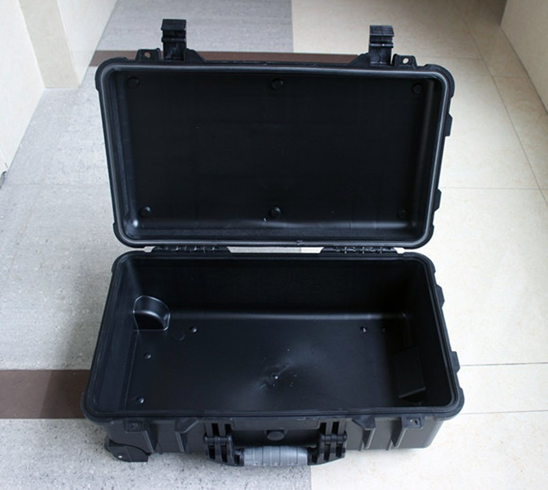 Купить с кэшбэком Waterproof trolley case toolbox tool case Dustproof Protective Camera Case Instrument box equipment box with pre-cut foam lining