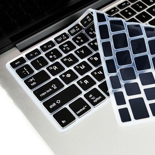 Silicone souple ue US pour Macbook Pro 13 15 CD ROM couverture de clavier couverture russe pour Macbook Pro 13 15 A1278 A1286 clavier russie