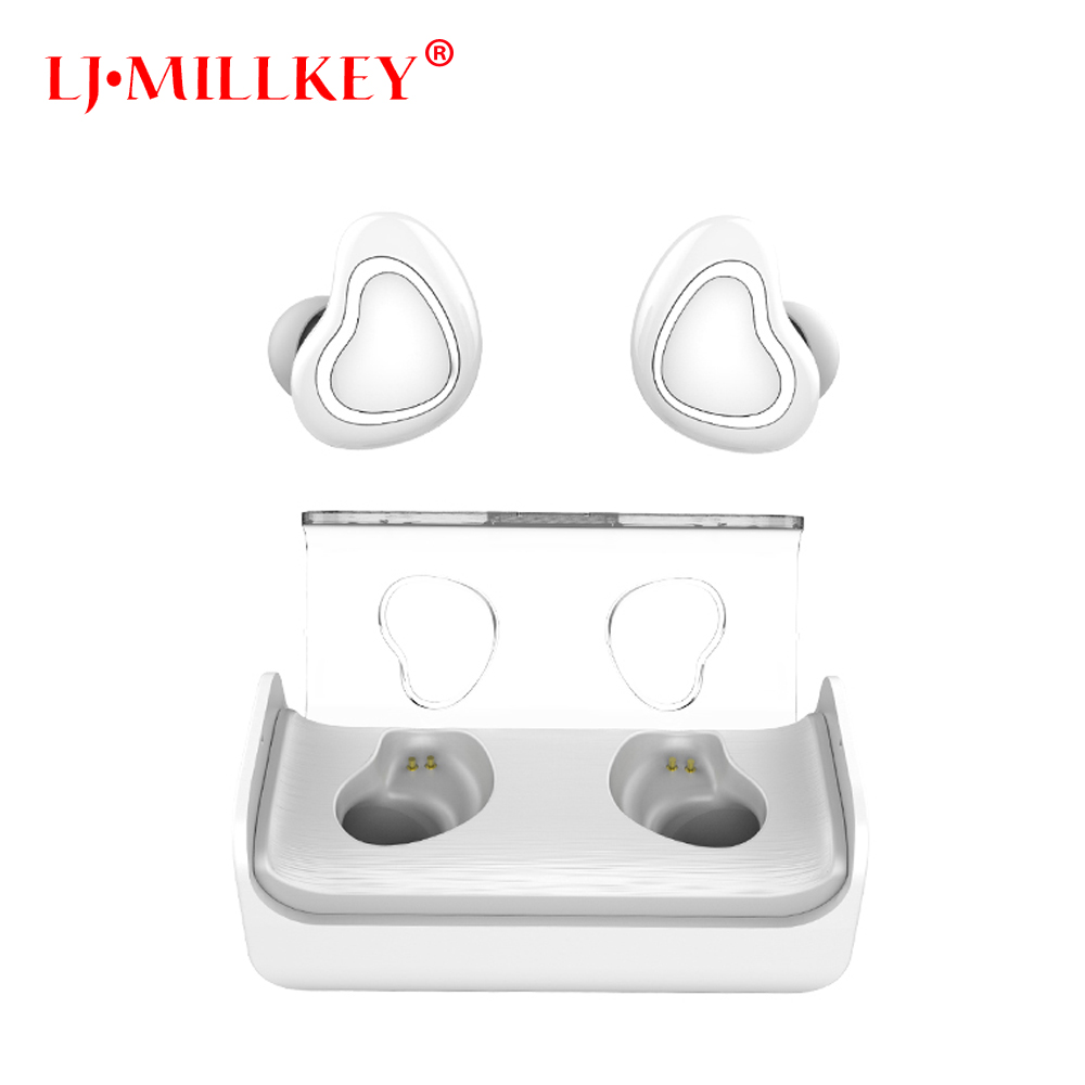 TWS Business Earbuds Bluetooth Earphones Wireless 3d Earphones With Microphone Handsfree Calls Noise Cancelling YZ147 2016 white and black joway h 08 wireless noise cancelling voice control sports stereo bluetooth v4 0 earphones with microphone