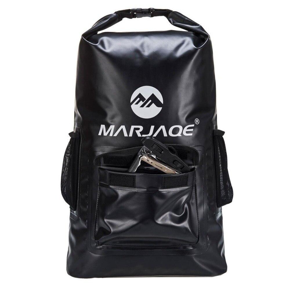 Outdoor River Trekking Bag Dry Bag Waterproof Swimming Backpack 22L Roll Top Backpack Sacks For Beach Fishing Drifting Kayaking