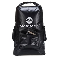Outdoor River Trekking Bag Dry Bag Waterproof Swimming Backpack 22L Roll Top Backpack Sacks for Beach Fishing Drifting Kayaking