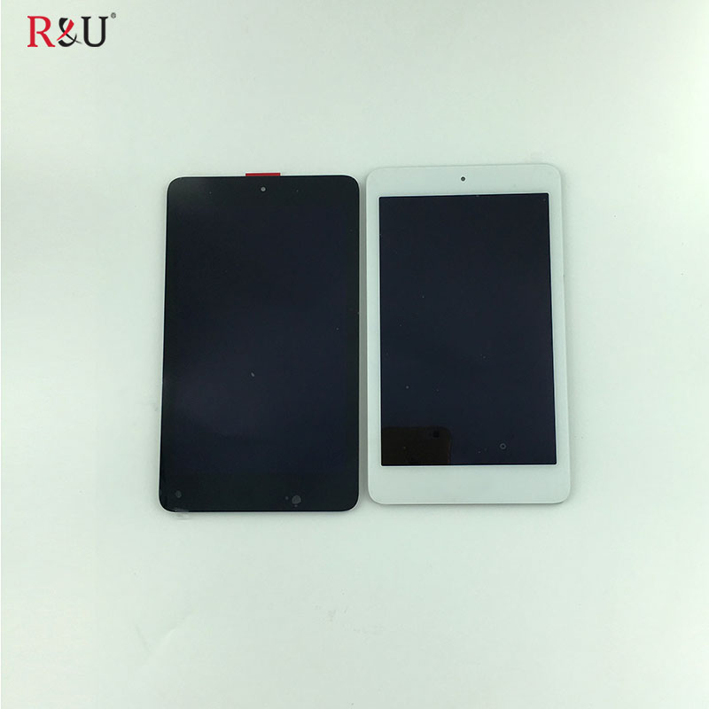 R&U test good lcd screen display + touch screen panel digitizer assembly replacement parts For Acer Iconia one 7 B1 750 B1-750 r&u test good 7 9inch lcd screen display touch screen panel digitizer assembly replacement part for nokia n1 n1s free shipping
