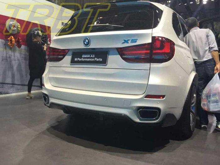 X5 F15 Rear Lip Carbon Fiber Rear Diffuser M Performance