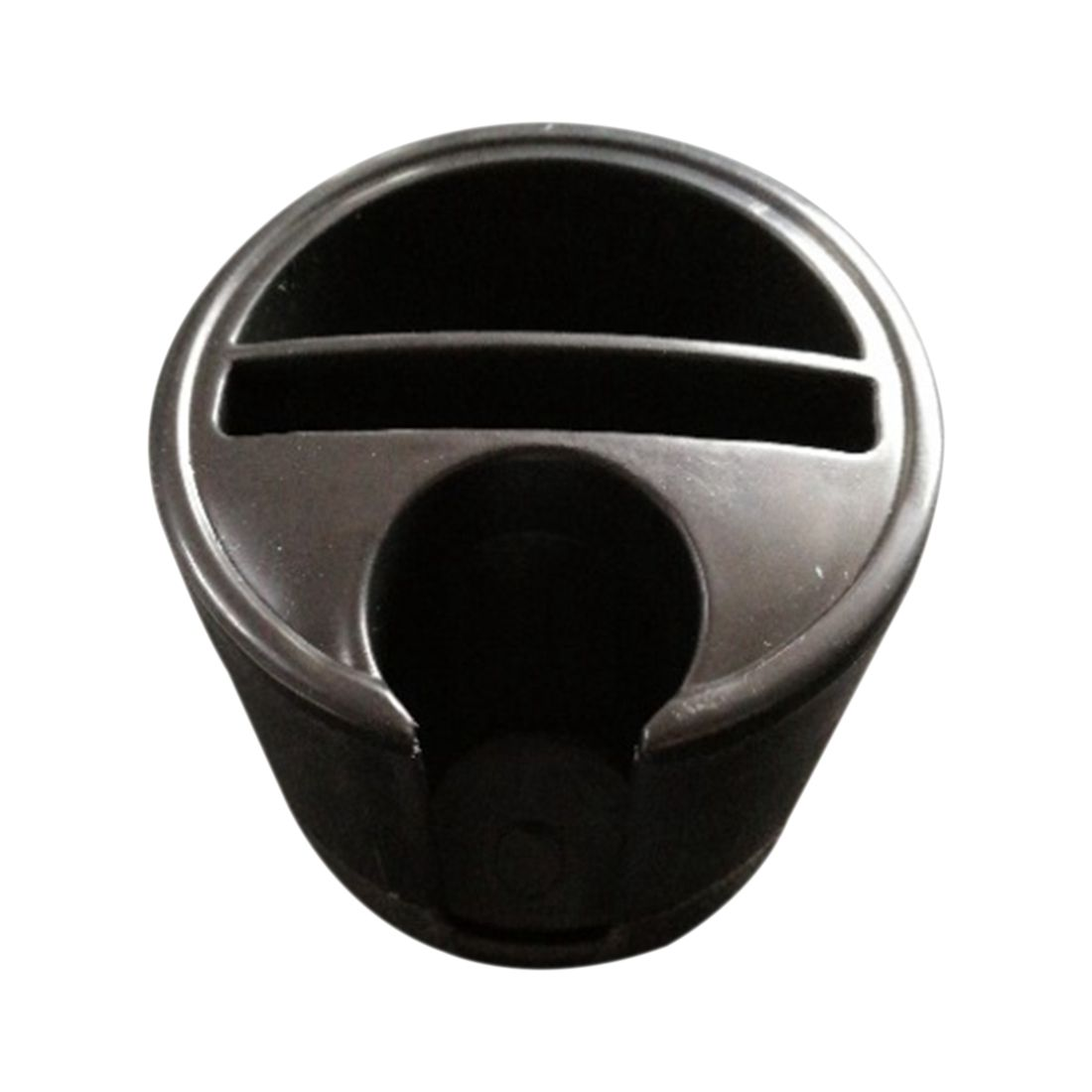 AUTO -New black universal vehicle mounted cup-shaped multifunctional storage case, change box ,can be inserted into card key b