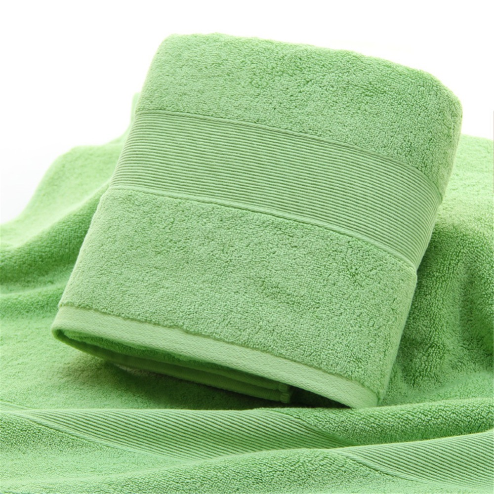 Image 2 - Extra Absorbent Quick Dry Large Towel 100% Pure Egyptian Cotton 650gsm Bathroom Bath Towel Spa Gym Sauna Multipurpose Collection-in Bath Towels from Home & Garden