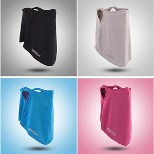 Image 2 - Outdoor Face Mask Breathable Sunshade Sweat Absorption Polyester Mouth Protector Headwear