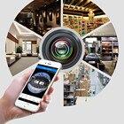 3D-VR360 960P HD Mini 360 Degree Panoramic Wireless Wifi IP Fisheye Camera Audio D.5