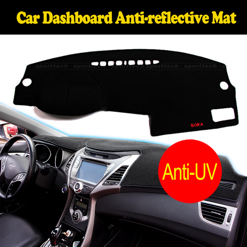For Ford Mondeo dashboard mat protective pad dash mat covers Photophobism Pad car styling accessories 2013 Left hand drive