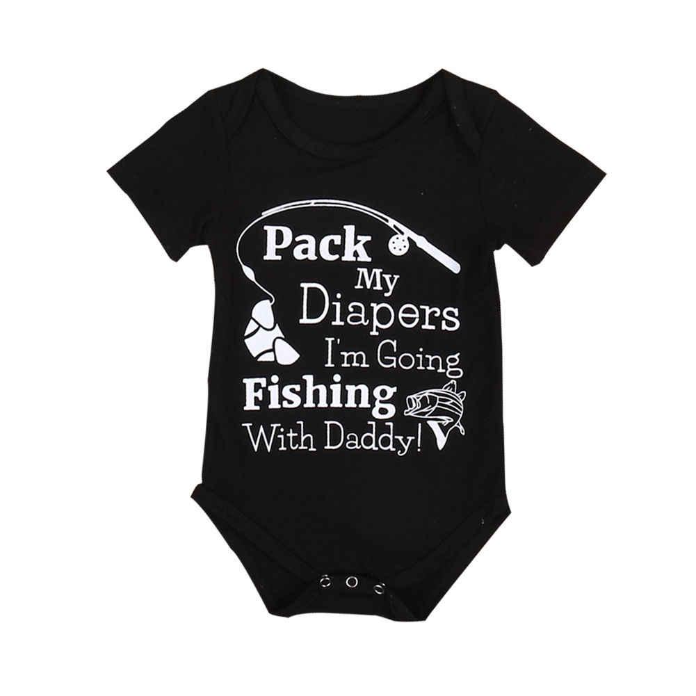2017 черный цельный летний костюм с короткими рукавами для маленьких мальчиков 0-24 мес.
