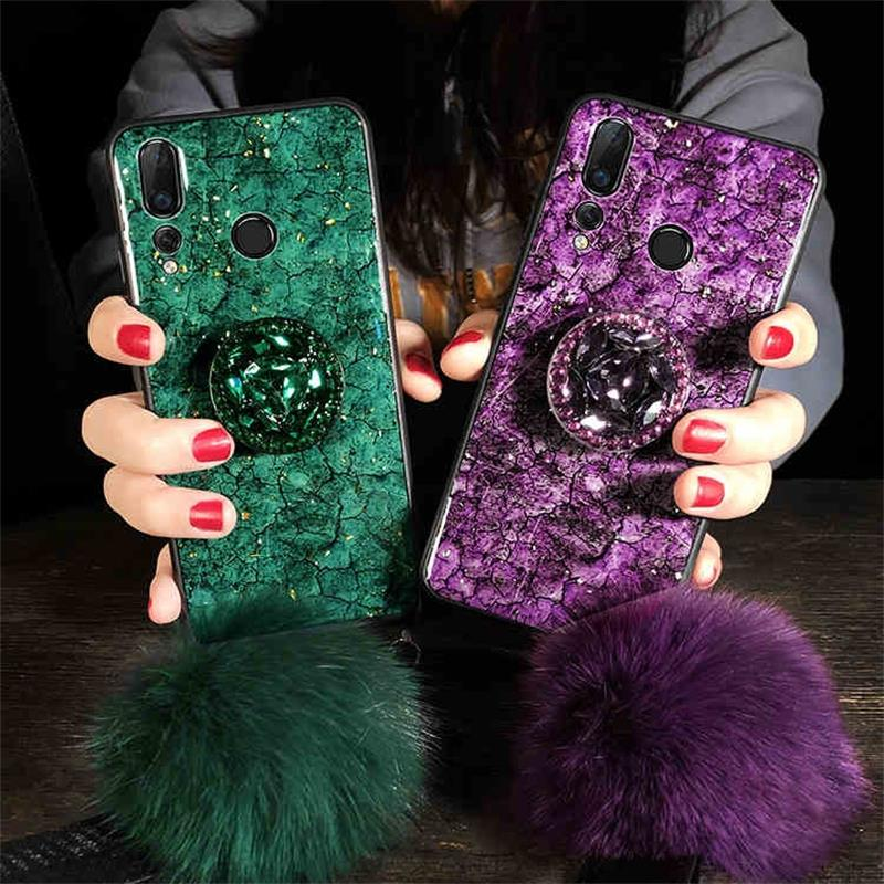 Fashion Marble Glitter Silicone Case For Xiaomi Mi 9 SE Mi 8 Lite A2 Max 2 3 Play Cover On Redmi GO S2 6A Note 6 7 Pro 9S