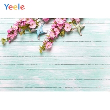 Yeele Violet Bouquet  White Wood Board Texture Planks Cloth Show Photography Backgrounds Photographic Backdrops For Photo Studio