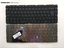 цена на UK keyboard For HP Pavilion Chromebook 14-C 14-C000 Series Black without frame Laptop keyboard UK Layout