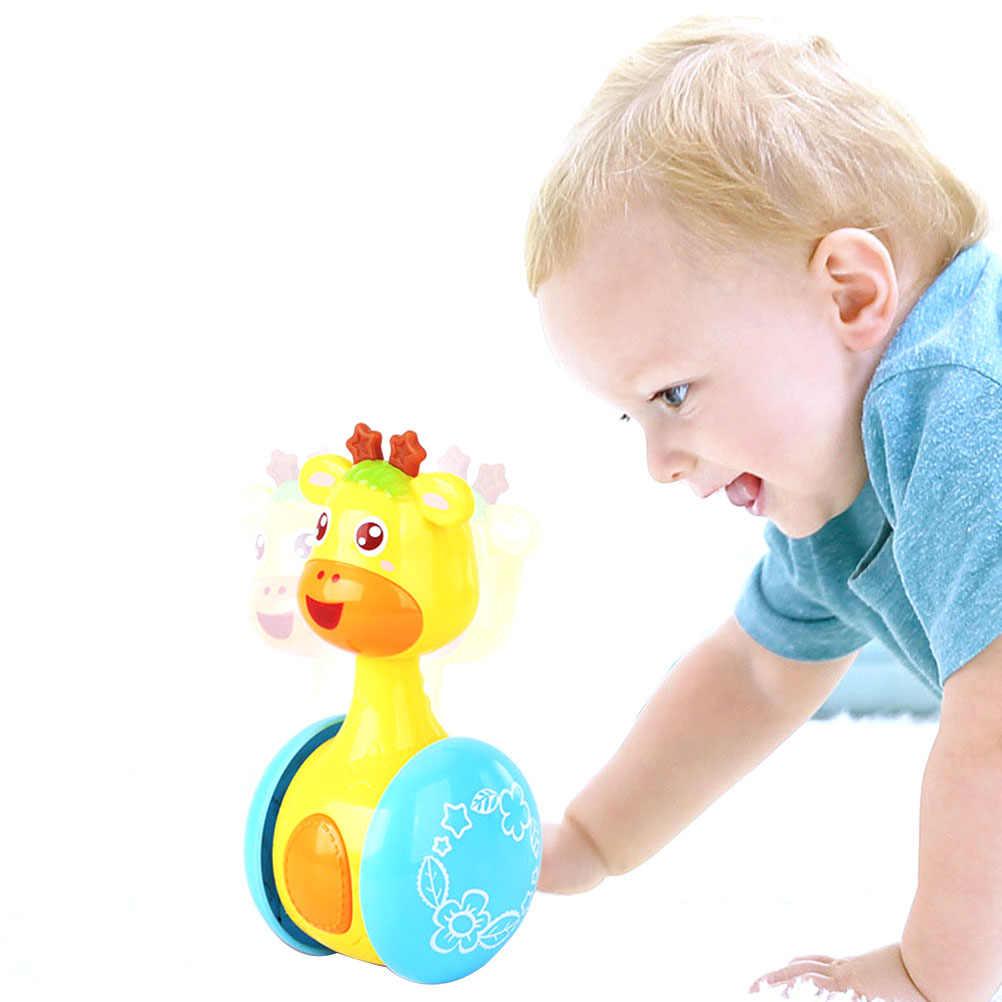 ของเล่นเด็กทารก Rattles Tumbler ตุ๊กตา Bell เพลง Roly - Poly ของเล่นเพื่อการศึกษาของขวัญเด็ก
