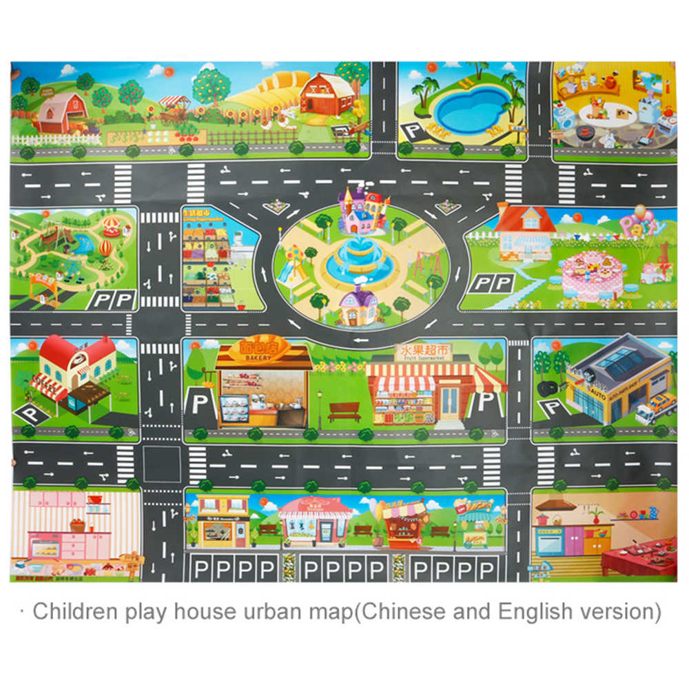 Kids Toys City Parking Lot Roadmap Map Play mat DIY 18 Pcs Road Signs Map Games For Children on maps for books, maps for scrapbook, maps for mobile, maps for playing, maps for soccer, maps for legend of zelda, maps for work, maps for computers, maps for rpg, maps for reading, maps for shopping, maps for homework, maps for bulletin boards, maps for math, maps for transportation, maps for spies, maps for kindergartners, maps for art, maps for weather, maps for ps3,