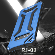 Funda R JUST armadura de Metal de aluminio funda para Samsung Galaxy S10 Plus S10 5G s10 plus fundas de teléfono a prueba de agua Gundam a prueba de golpes