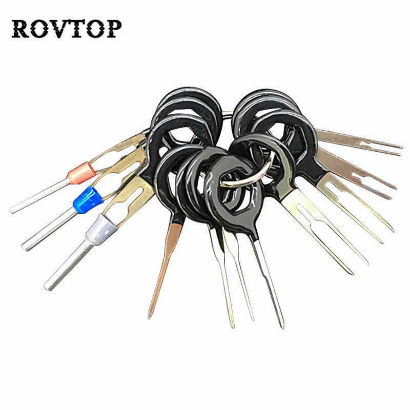 Automobiles Repair Tool Pin Extractor Kit Terminal Removal Tools Car Electrical Wiring Crimp Connector for Car Plug #2
