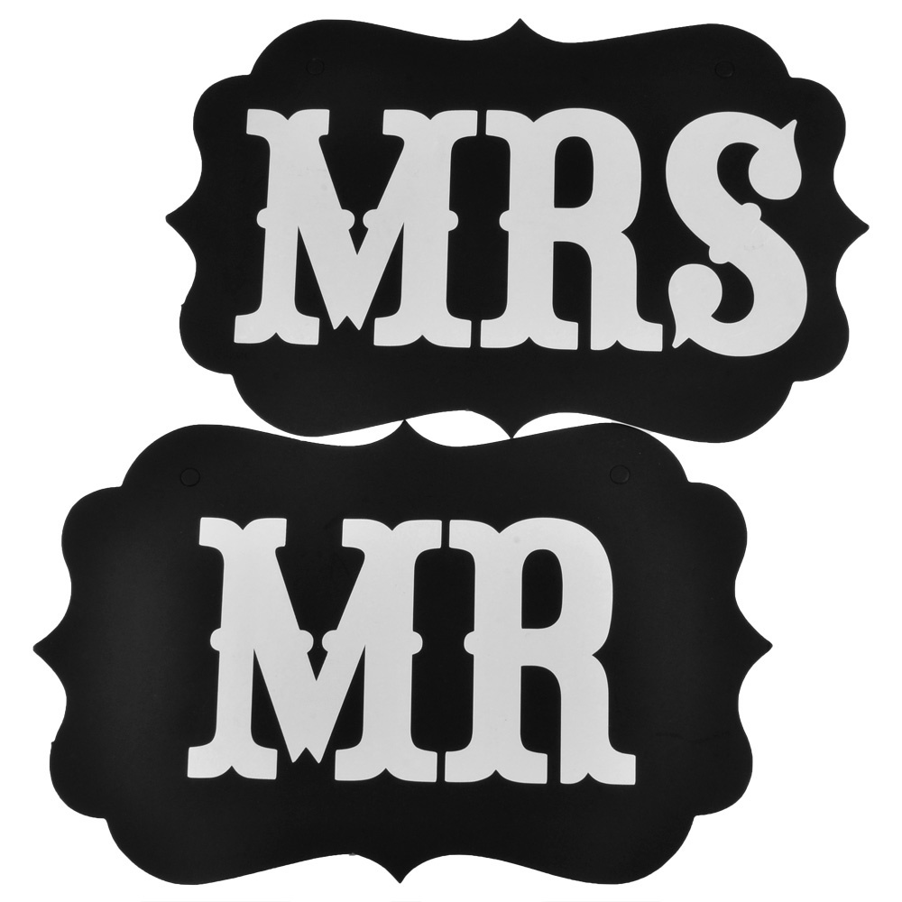 Diy1 Set Mr Mrs Vintage Wedding Signs Banner Garland Braidal Shower Favor Photo Booth Props Party Decoration On Aliexpress Alibaba Group