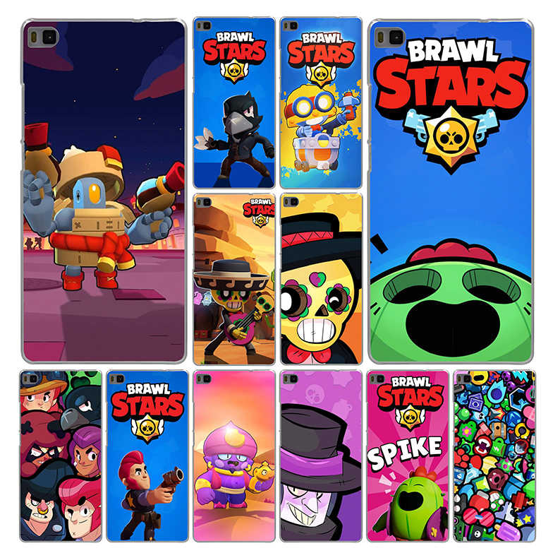 Lavaza Brawl Stars Art Phone Case for Huawei P20 P10 P9 P8 Lite Plus Pro 2017 2016 2015 P Smart 2019