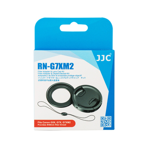 Image 5 - JJC Lens Filter Adapter 49mm Lens Cap with Keeper Kit for Canon PowerShot G5X G7X G7X Mark II