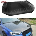 Carbon Fiber Front Engine Hood Bonnets engine Covers Car Body Kit For Audi A3 S3 2013 2014 2015 2016 2017 2018